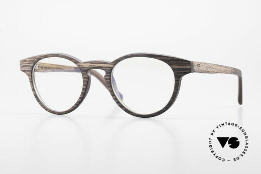 Kerbholz Friedrich Panto Holzbrille Kingwood Details