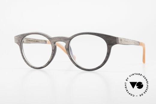 Kerbholz Friedrich Holzbrille Panto Blackwood Details