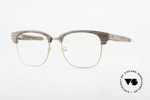 Kerbholz Albert Herren Holzbrille Kingwood Details