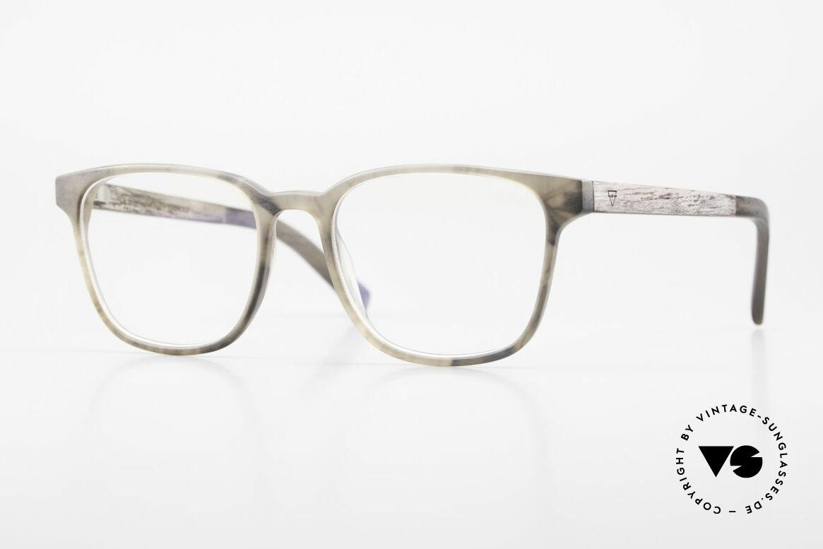 Kerbholz Ludwig Holzbrille Herren Blackwood, klassische Herrenbrille von Kerbholz, made in Germany, Passend für Herren