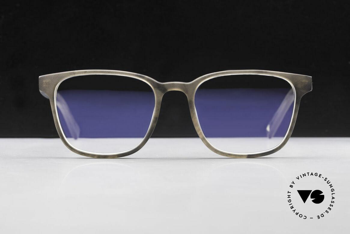Kerbholz Ludwig Holzbrille Herren Blackwood, ein absolutes UNIKAT (zudem in Handarbeit gefertigt), Passend für Herren