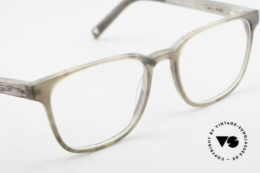 Kerbholz Ludwig Holzbrille Herren Blackwood, Größe: medium, Passend für Herren