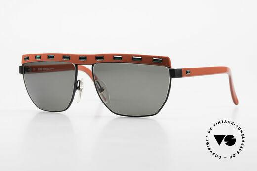Paloma Picasso 3706 90s Damen Sonnenbrille Strass Details