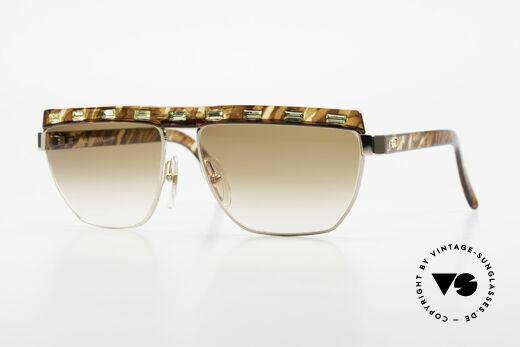 Paloma Picasso 3706 Damen Sonnenbrille Strass 90s Details