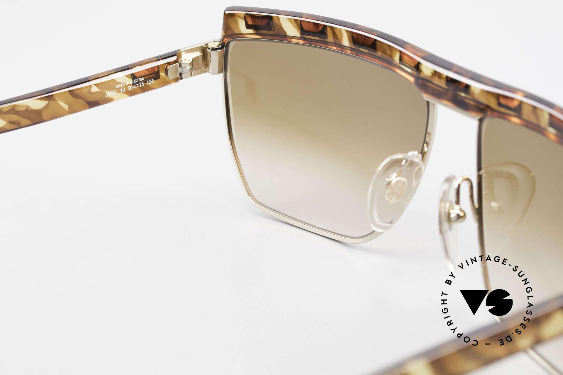 Paloma Picasso 3706 Damen Sonnenbrille Strass 90s, ungetragen (wie alle unsere vintage Sonnenbrillen), Passend für Damen