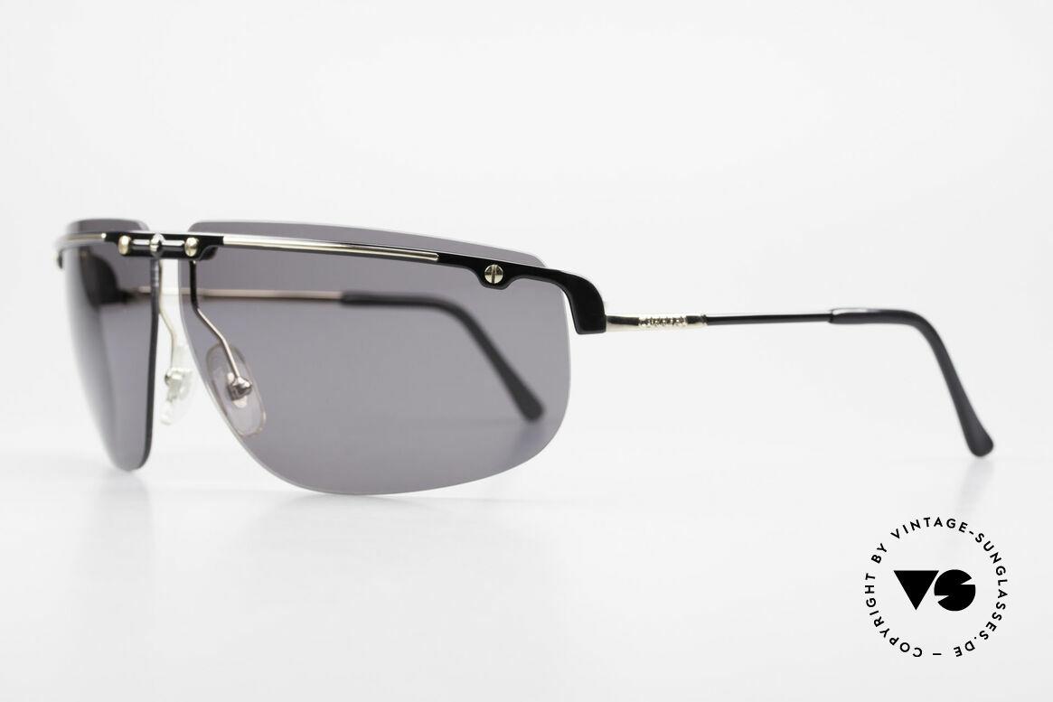 Carrera 5420 90er Sportsonnenbrille Wrap, optimaler Schutz der Augen aus jedem Blickwinkel, Passend für Herren