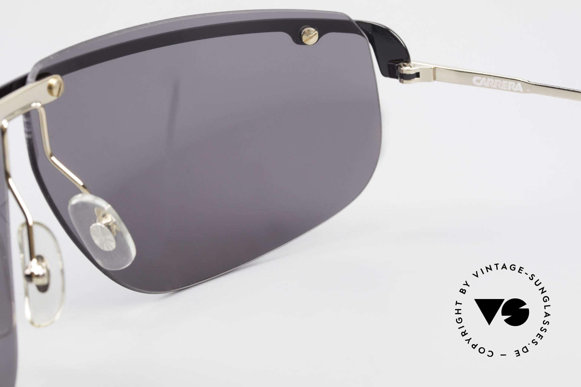 Carrera 5420 90er Sportsonnenbrille Wrap, Größe: large, Passend für Herren