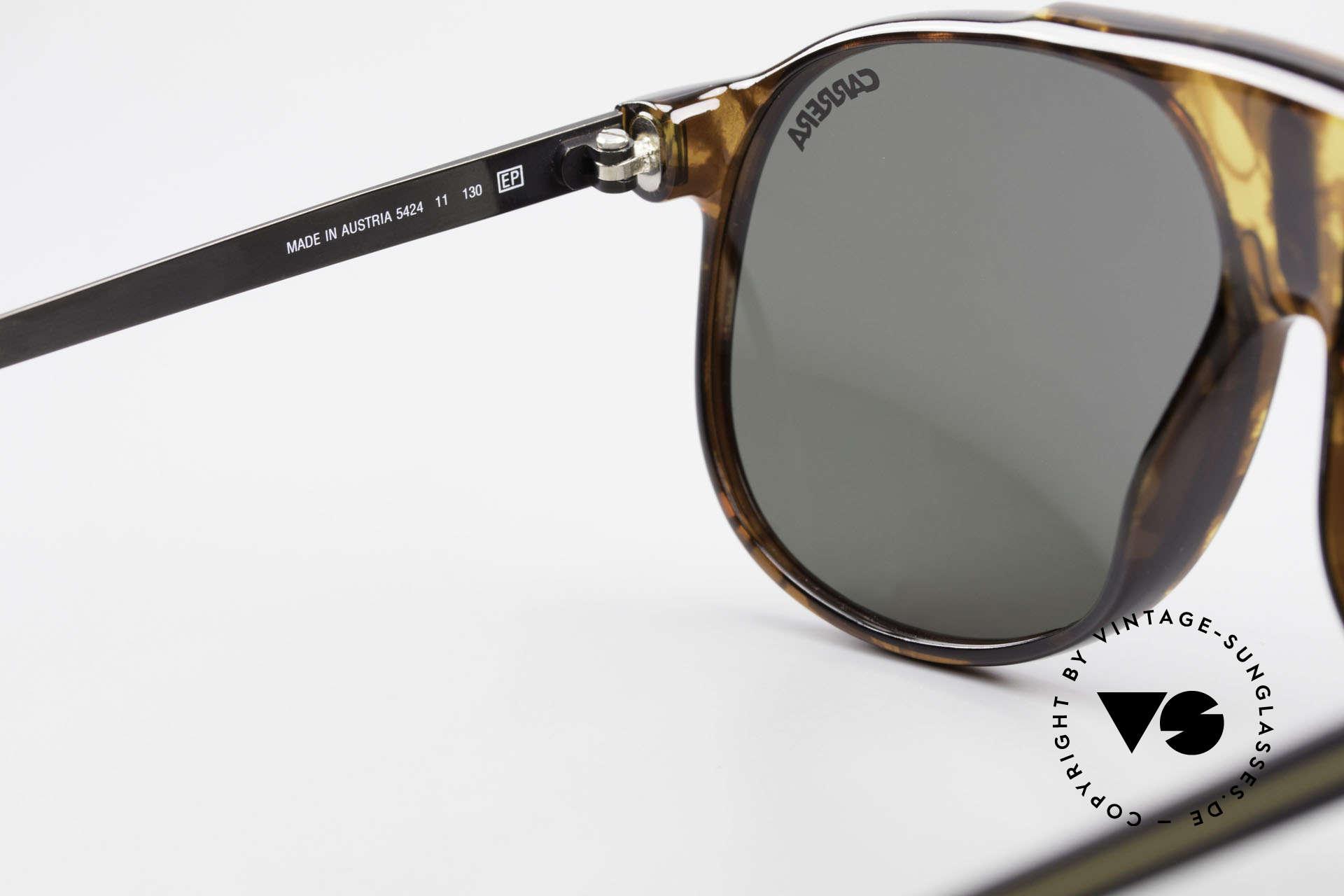Carrera 5424 80er Aviator Sportsonnenbrille, ungetragen (wie alle unsere Carrera Sonnenbrillen), Passend für Herren