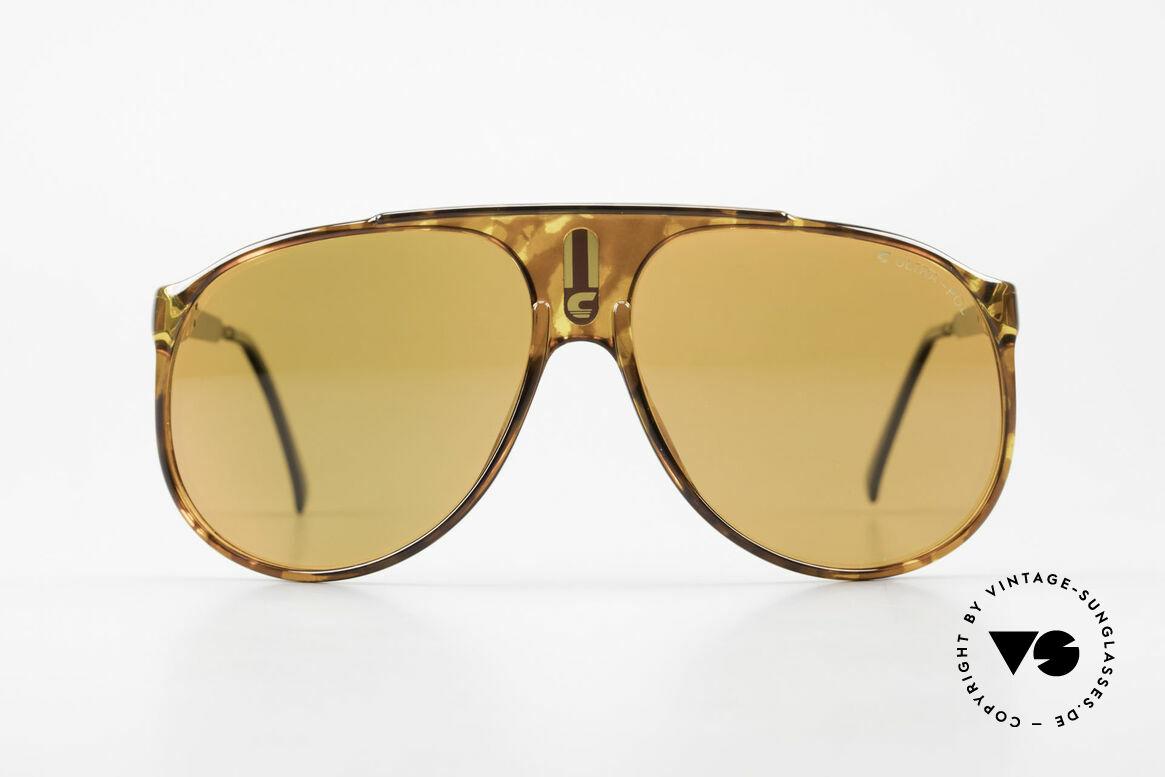 Carrera 5424 80s Sonnenbrille Polarisierend, damalige Mod.-Bezeichnung: 5424 Sky, Gr. 62/13, Passend für Herren