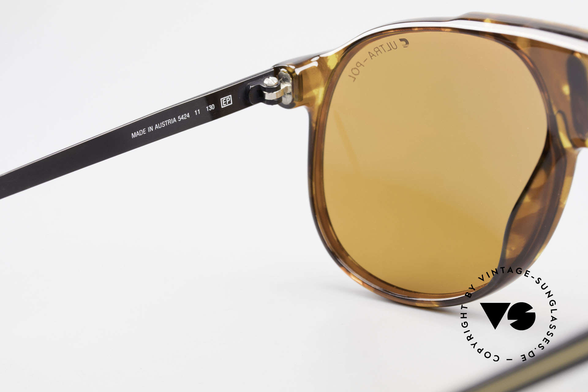 Carrera 5424 80s Sonnenbrille Polarisierend, ungetragen (wie alle unsere Carrera Sonnenbrillen), Passend für Herren