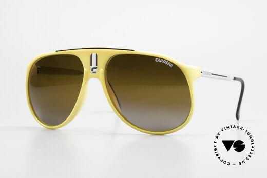Carrera 5424 Verspiegelte 80er Sonnenbrille Details