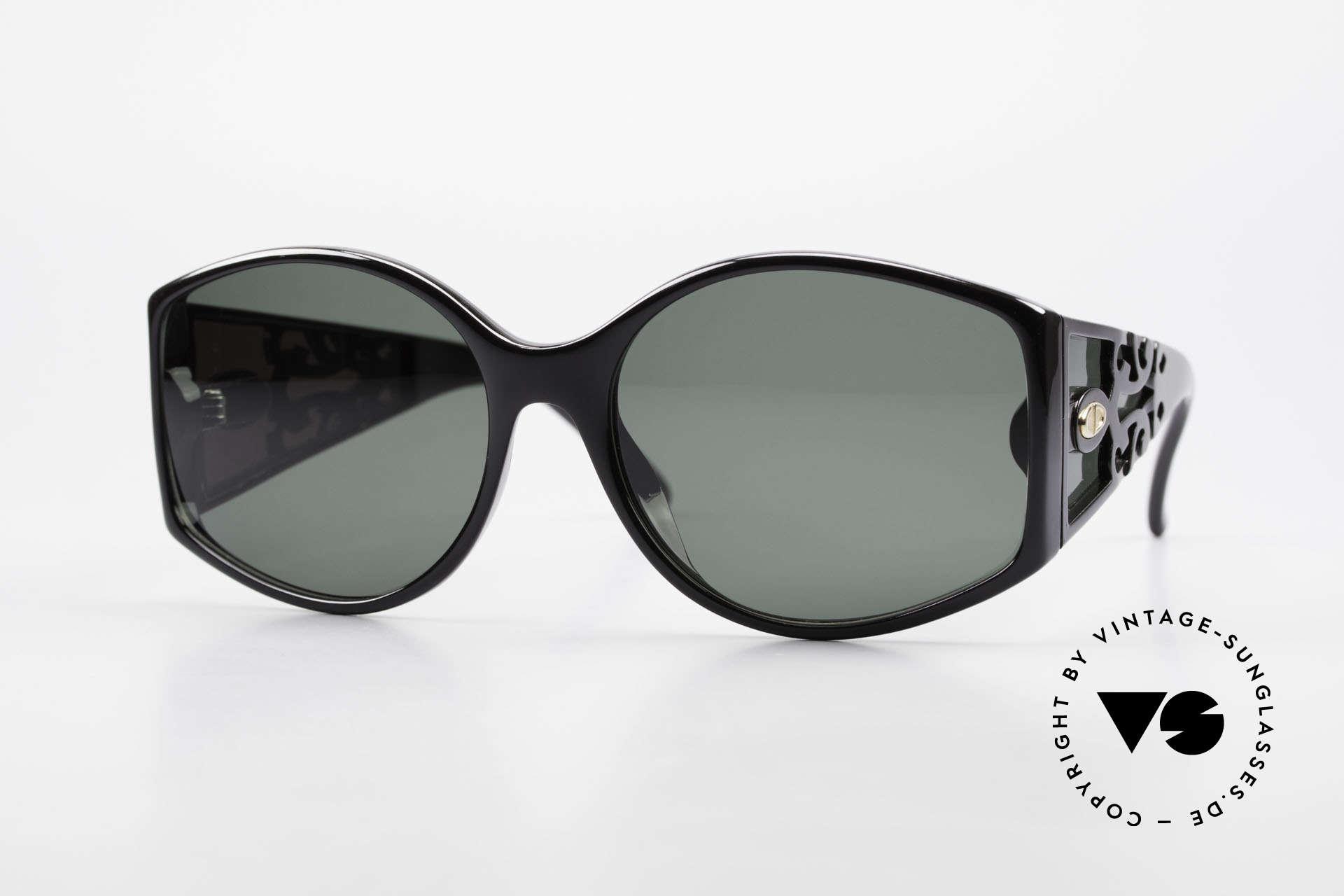 Christian Dior 2435 Designersonnenbrille Damen, prächtige Dior vintage Designersonnenbrille v. 1988, Passend für Damen