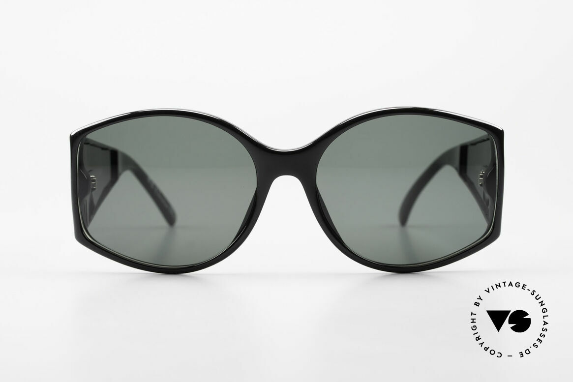 Christian Dior 2435 Designersonnenbrille Damen, toller Optyl-Kunstoffrahmen mit prunkvollen Bügeln, Passend für Damen