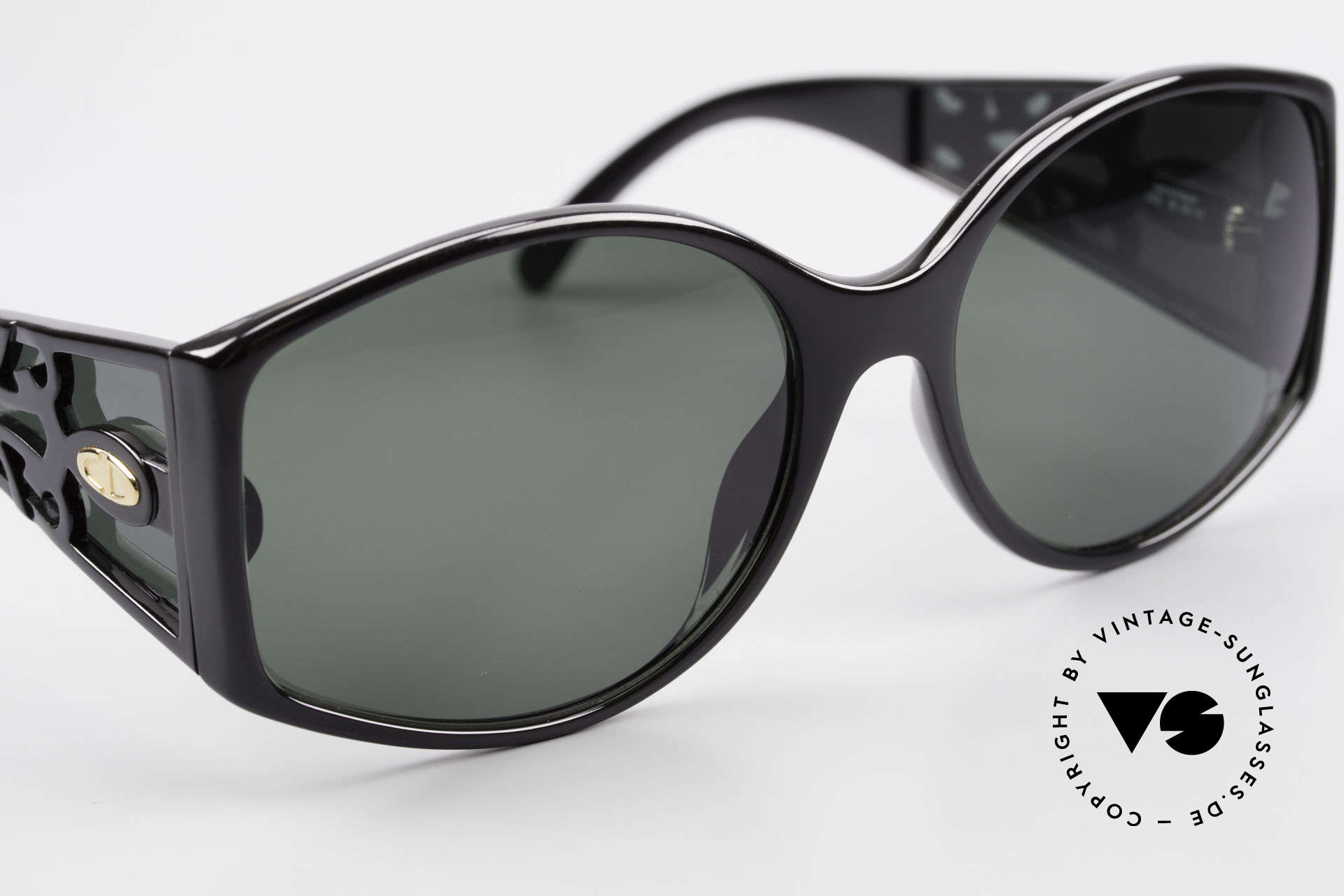 Christian Dior 2435 Designersonnenbrille Damen, Gläser (100% UV) können ggf. auch getauscht werden, Passend für Damen