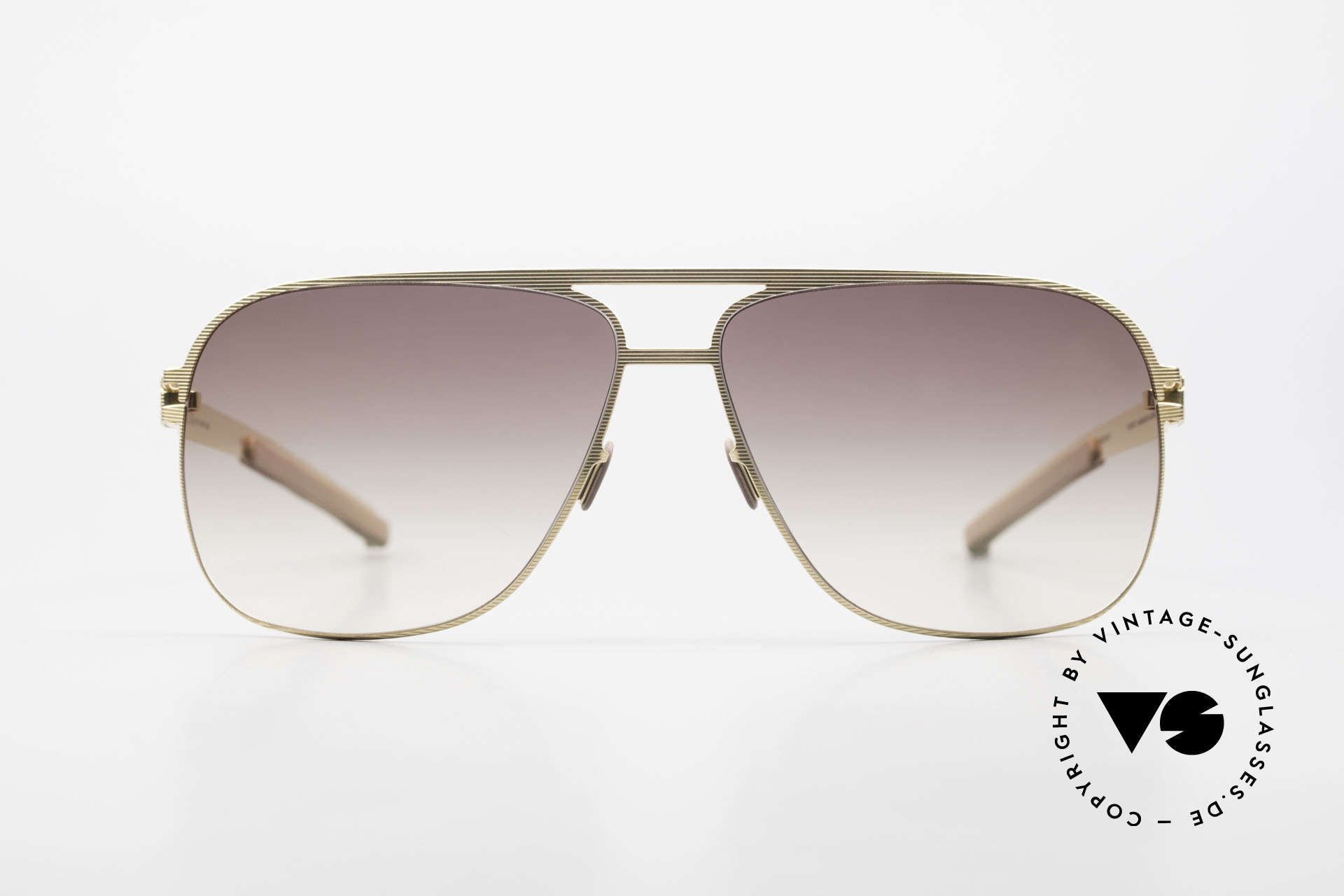 Mykita Luke Vintage Sonnenbrille von 2008, Mykita: die jüngste Marke in unserem vintage Sortiment, Passend für Herren