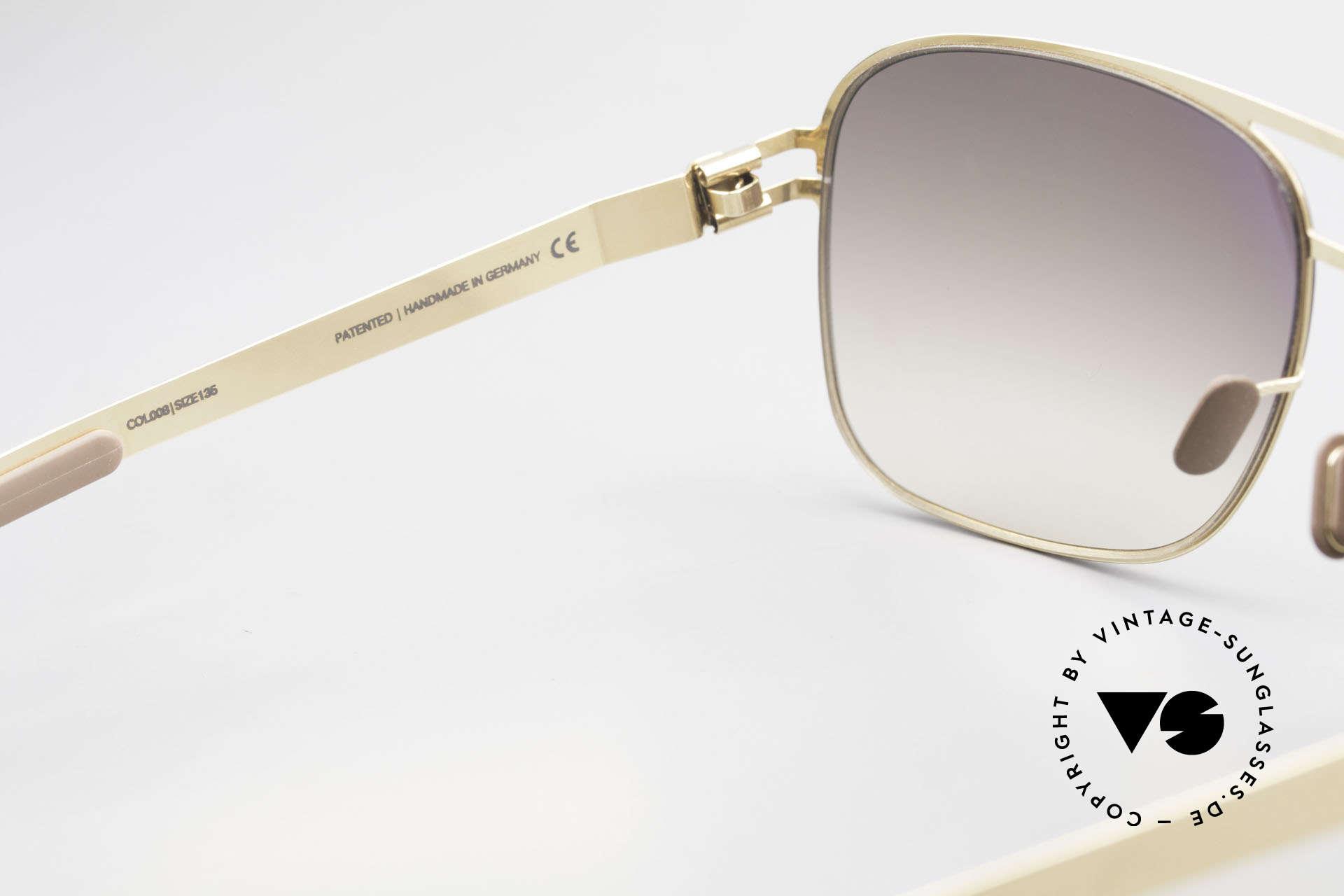 Mykita Luke Vintage Sonnenbrille von 2008, getragen von zahlreichen Promis und inzwischen selten, Passend für Herren