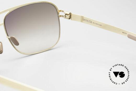 Mykita Luke Vintage Sonnenbrille von 2008, daher jetzt bei uns (natürlich ungetragen und mit Etui), Passend für Herren