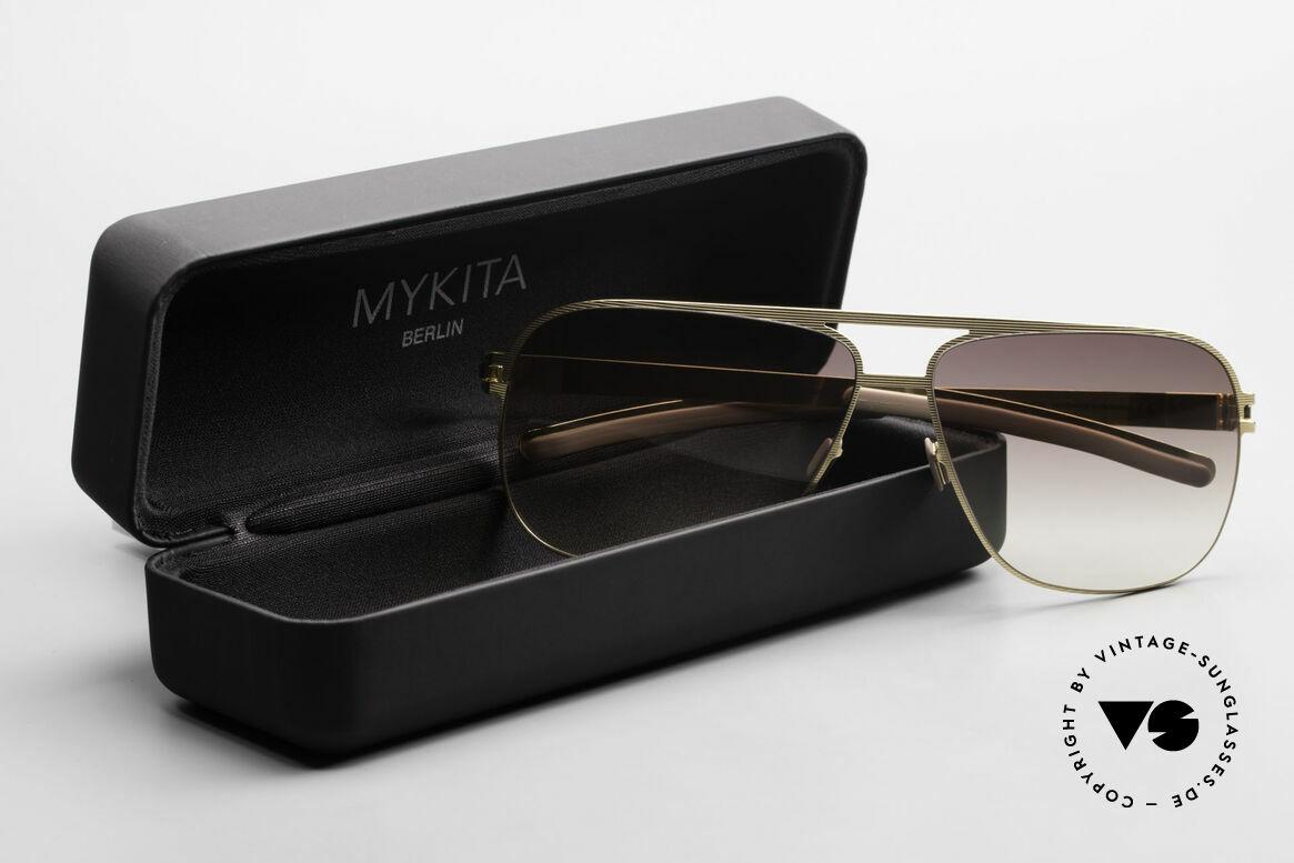 Mykita Luke Vintage Sonnenbrille von 2008, Größe: large, Passend für Herren