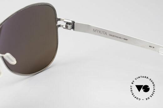 Mykita Ava Damen Aviator Brille Polarized, daher jetzt bei uns (natürlich ungetragen und mit Etui), Passend für Damen