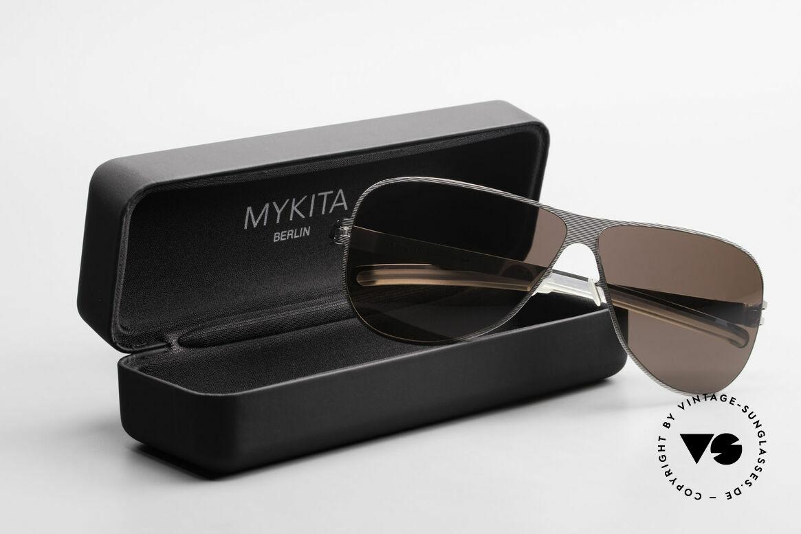 Mykita Ava Damen Aviator Brille Polarized, Größe: large, Passend für Damen