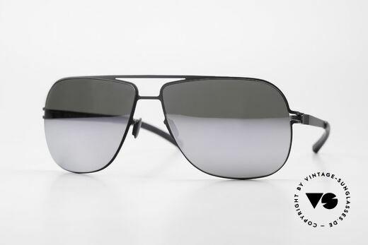 Mykita Rolf Promi Sonnenbrille Verspiegelt Details