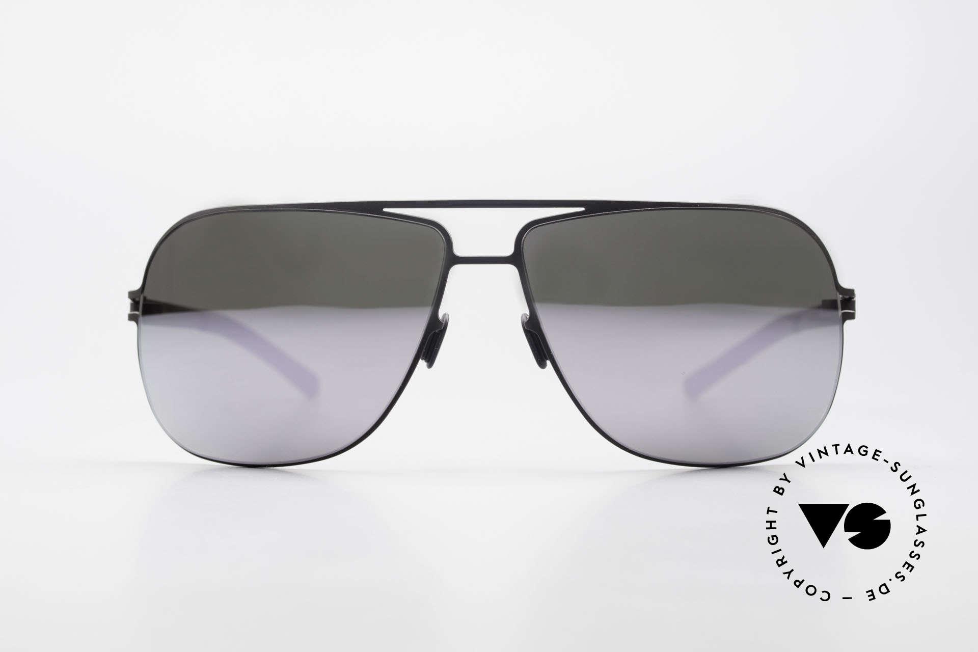 Mykita Rolf Promi Sonnenbrille Verspiegelt, Mykita: die jüngste Marke in unserem vintage Sortiment, Passend für Herren und Damen