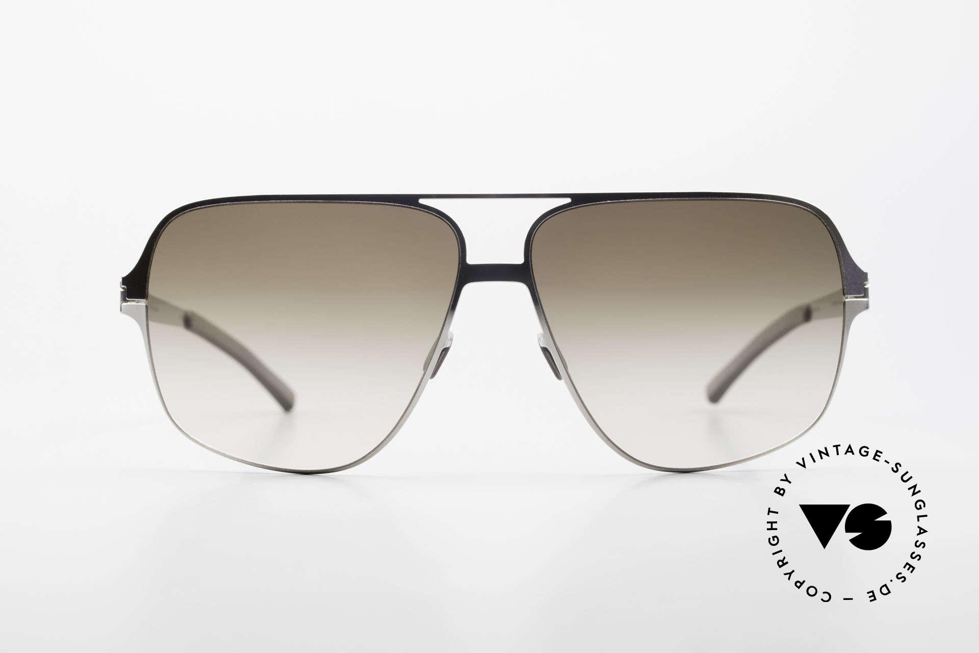 Mykita Cassius Lenny Kravitz Sonnenbrille XXL, Mykita: die jüngste Marke in unserem vintage Sortiment, Passend für Herren