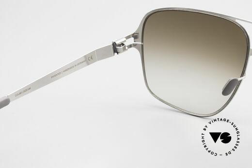 Mykita Cassius Lenny Kravitz Sonnenbrille XXL, getragen von Lenny Kravitz (2012) und inzwischen selten, Passend für Herren