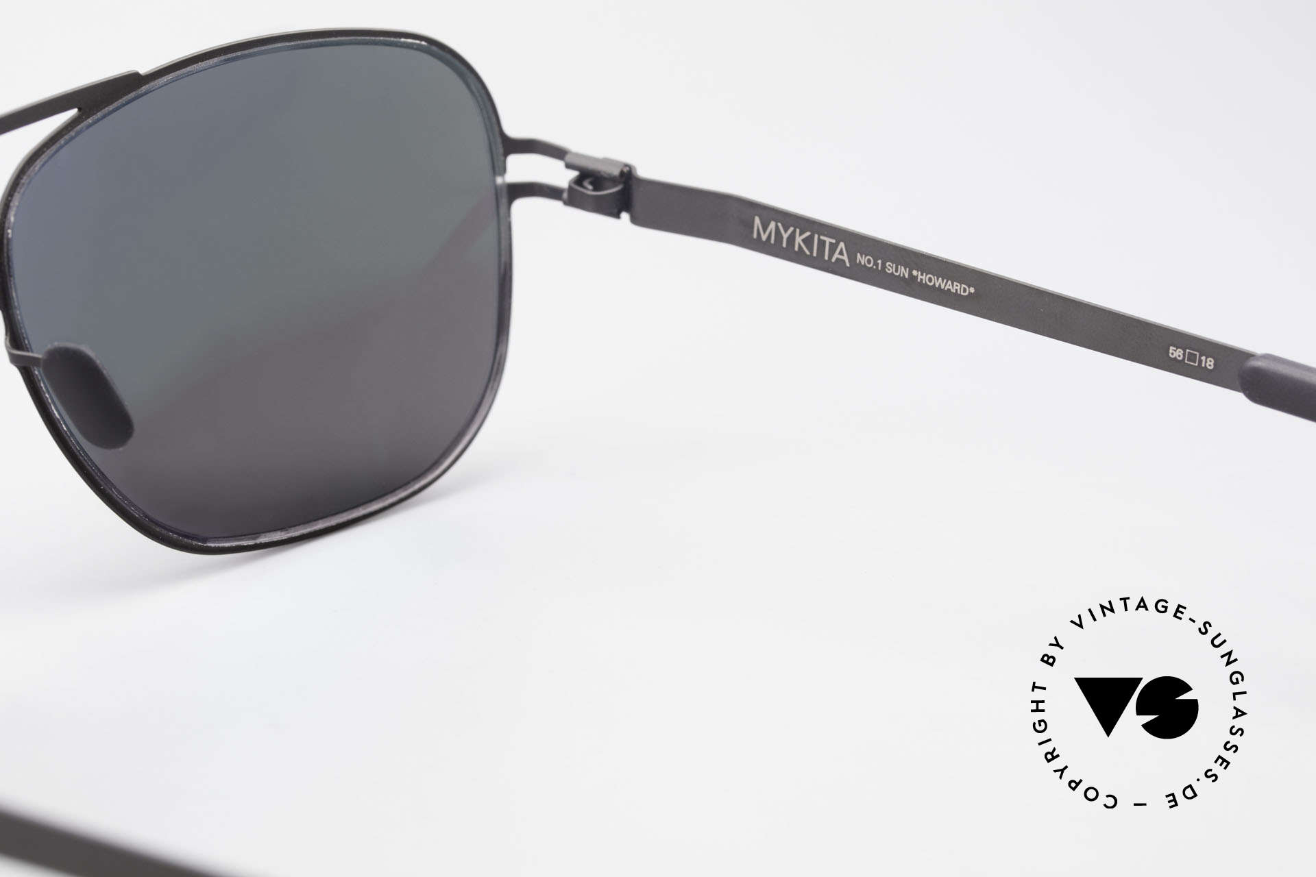 Mykita Howard Polarisierende Sonnenbrille, daher jetzt bei uns (natürlich ungetragen und mit Etui), Passend für Herren und Damen