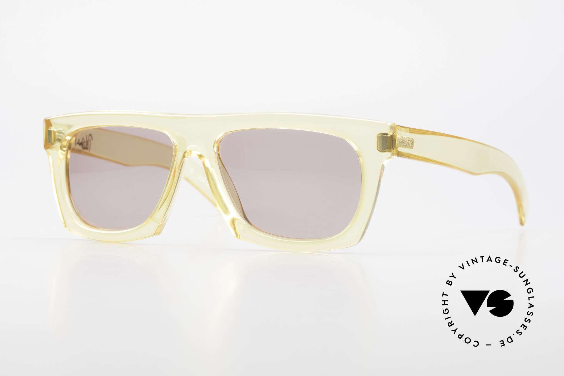 Paloma Picasso 1460 90er Original No Retrobrille, vintage Designersonnenbrille von Paloma Picasso, Passend für Herren und Damen
