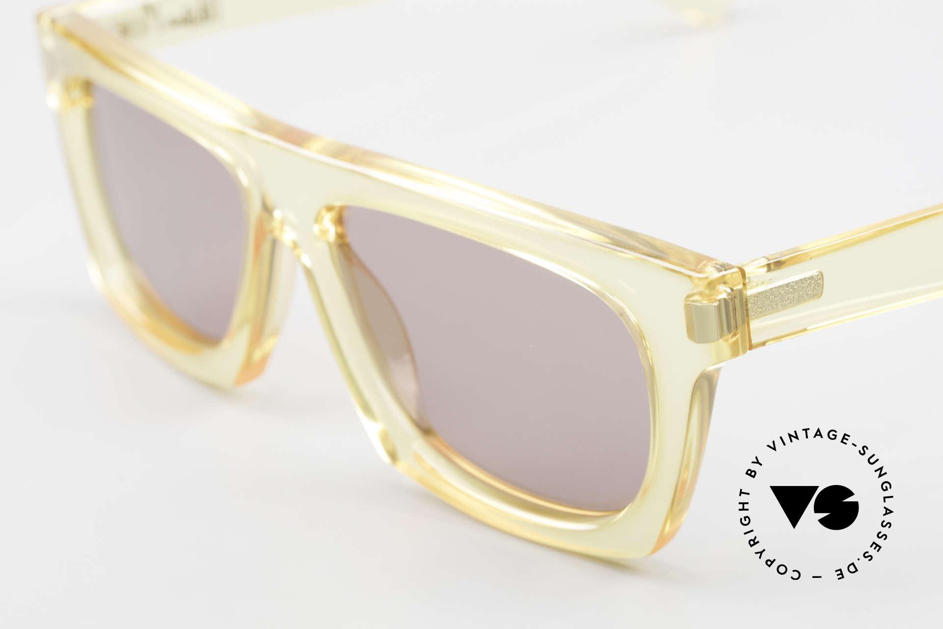 Paloma Picasso 1460 90er Original No Retrobrille, ungetragen (wie alle unsere vintage Sonnenbrillen), Passend für Herren und Damen