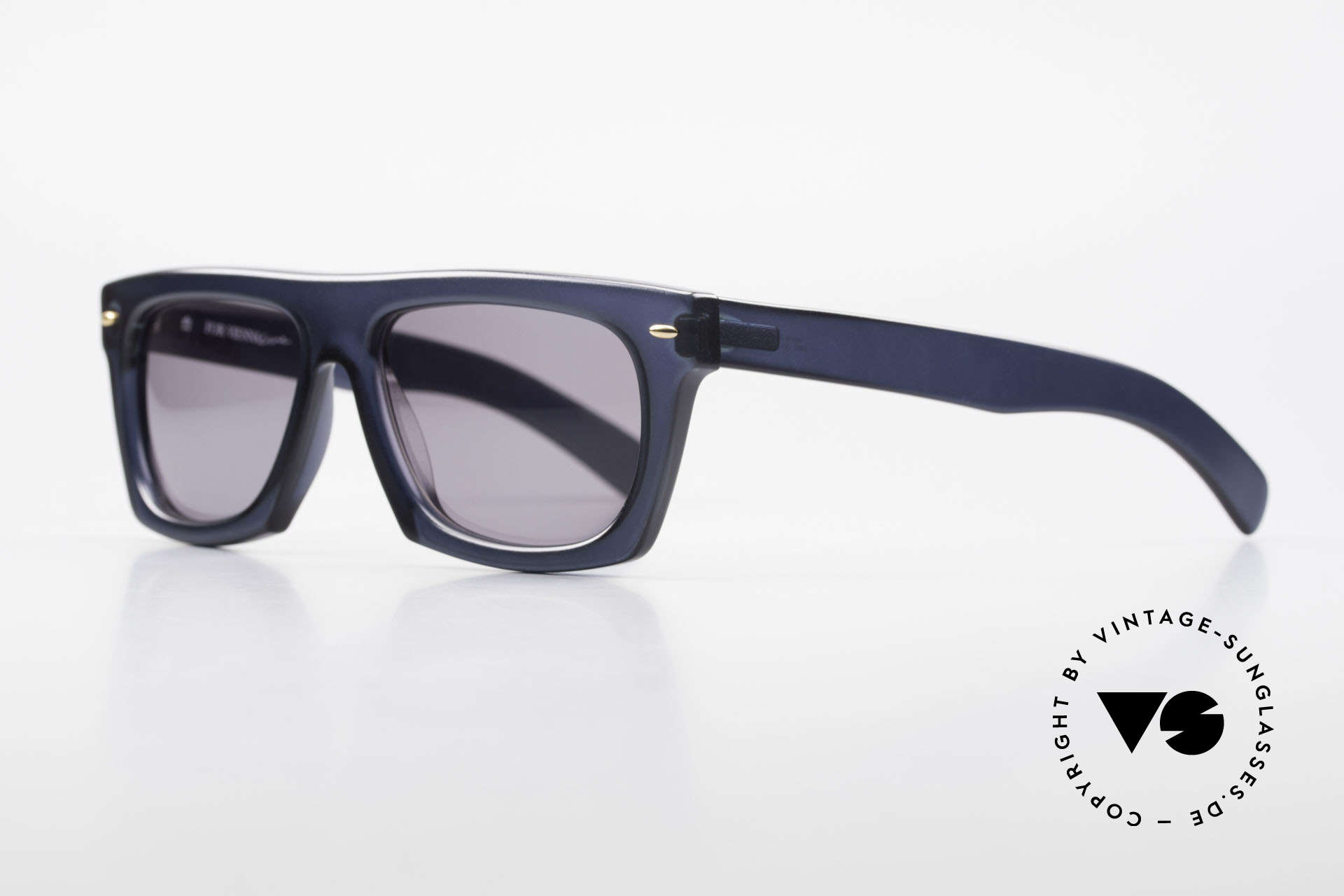 Paloma Picasso 1460 90er Original Designerbrille, zeitloses 90er Jahre Design von ViennaLine/Optyl, Passend für Herren und Damen