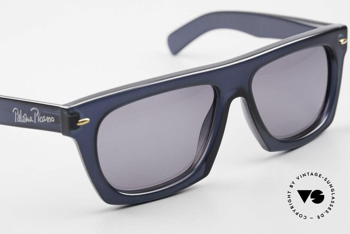 Paloma Picasso 1460 90er Original Designerbrille, ungetragen (wie alle unsere vintage Sonnenbrillen), Passend für Herren und Damen
