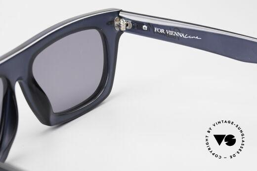 Paloma Picasso 1460 90er Original Designerbrille, Sonnengläser (100% UV) und mit original P.P. Etui, Passend für Herren und Damen