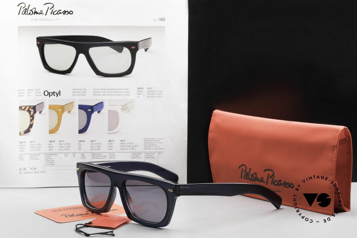 Paloma Picasso 1460 90er Original Designerbrille, Größe: large, Passend für Herren und Damen