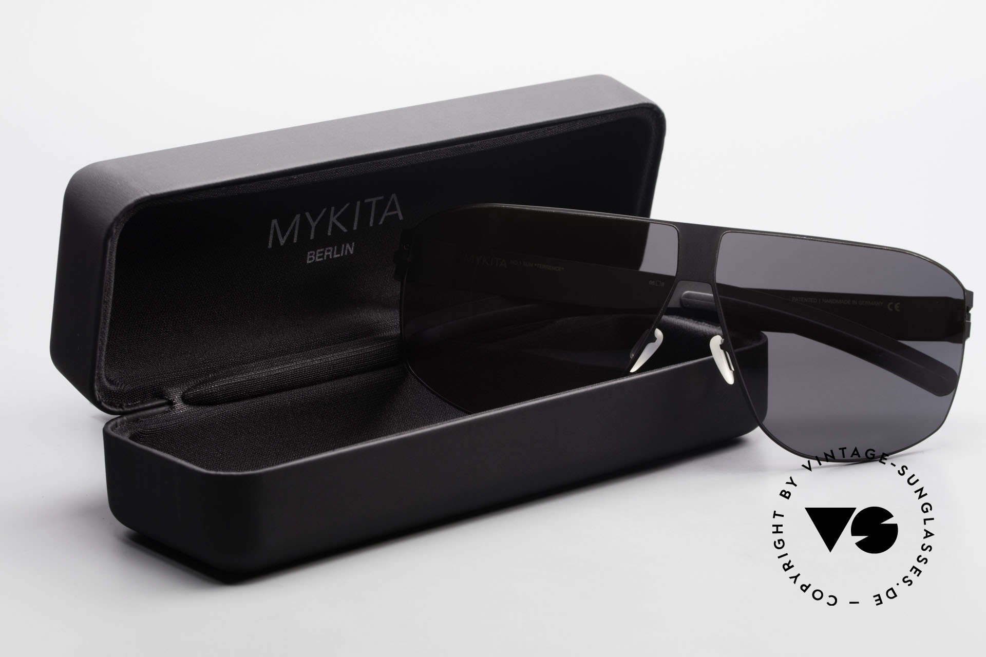 Mykita Terrence Vintage Mykita Sonnenbrille, Größe: large, Passend für Herren