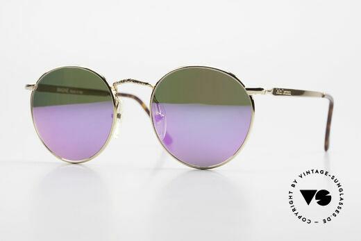 John Lennon - Imagine Pink Verspiegelte Sonnengläser Details