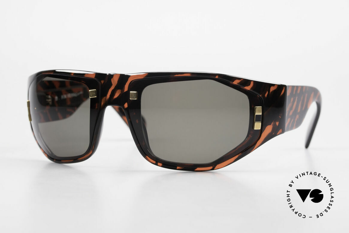 Paloma Picasso 3701 90er Wrap Sonnenbrille Damen, Damen Designer-Sonnenbrille von Paloma Picasso, Passend für Damen
