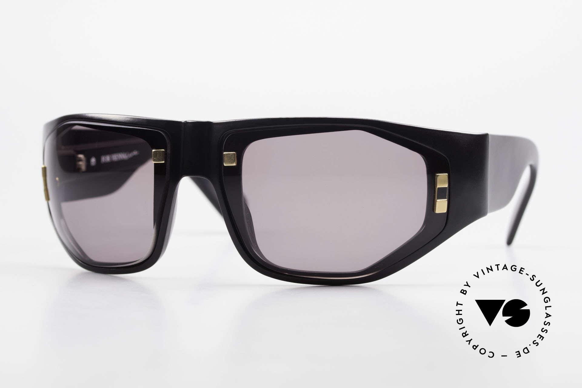 Paloma Picasso 3701 90er Damen Wrap Sonnenbrille, Damen Designer-Sonnenbrille von Paloma Picasso, Passend für Damen