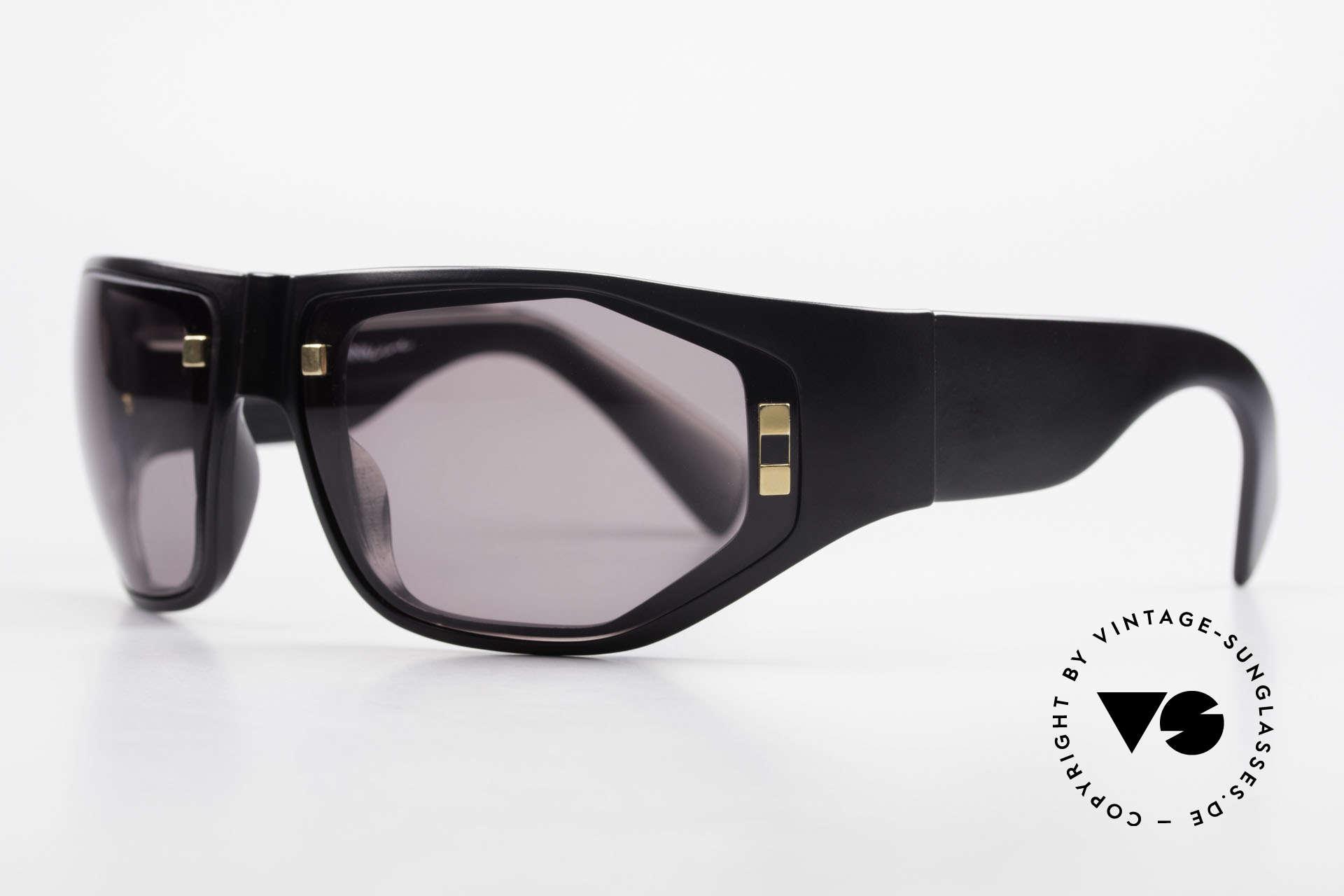 Paloma Picasso 3701 90er Damen Wrap Sonnenbrille, noch ein Meisterwerk vom Künstler-Haus Picasso!, Passend für Damen