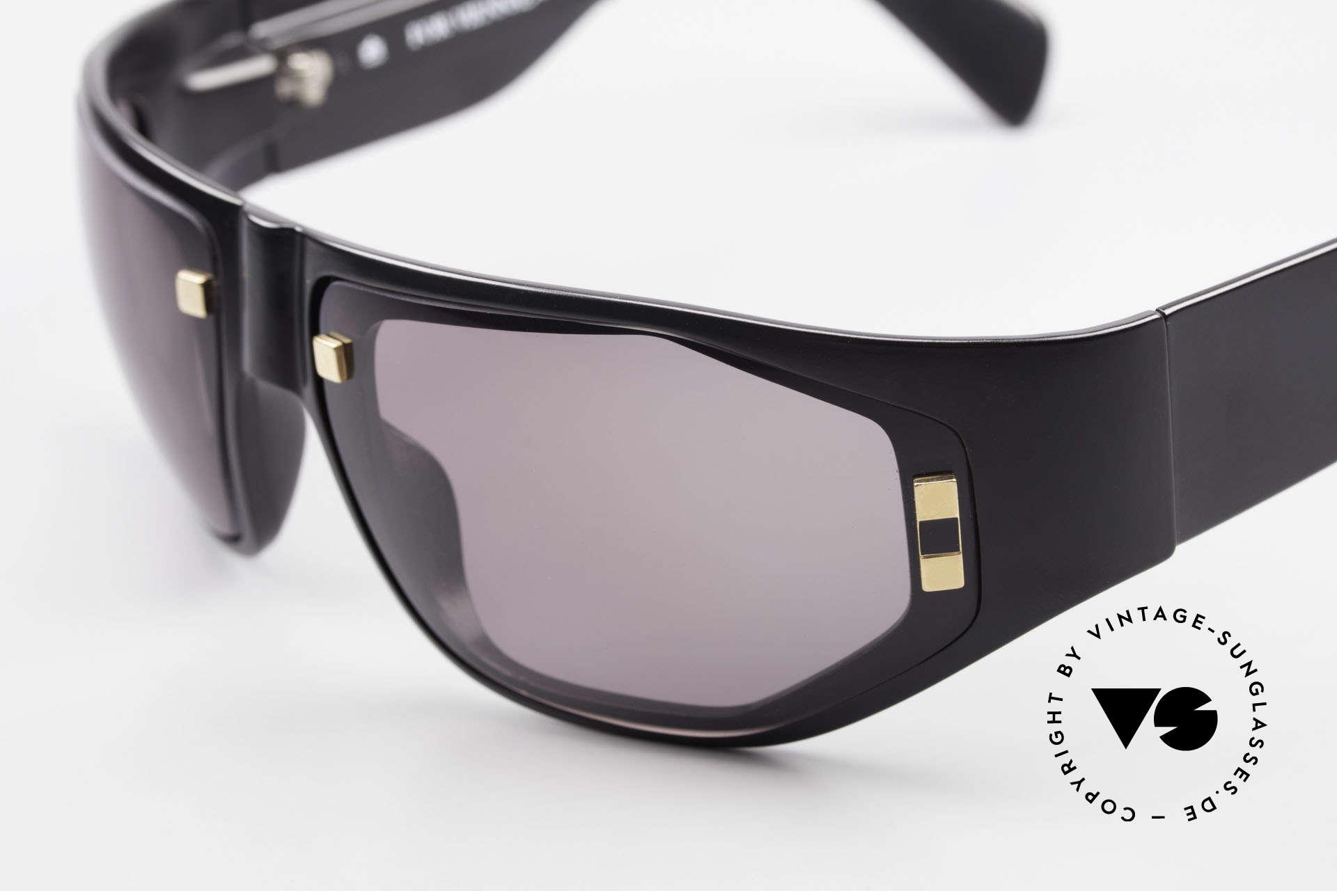 Paloma Picasso 3701 90er Damen Wrap Sonnenbrille, von 1990, doch das Optyl-Material glänzt wie neu, Passend für Damen