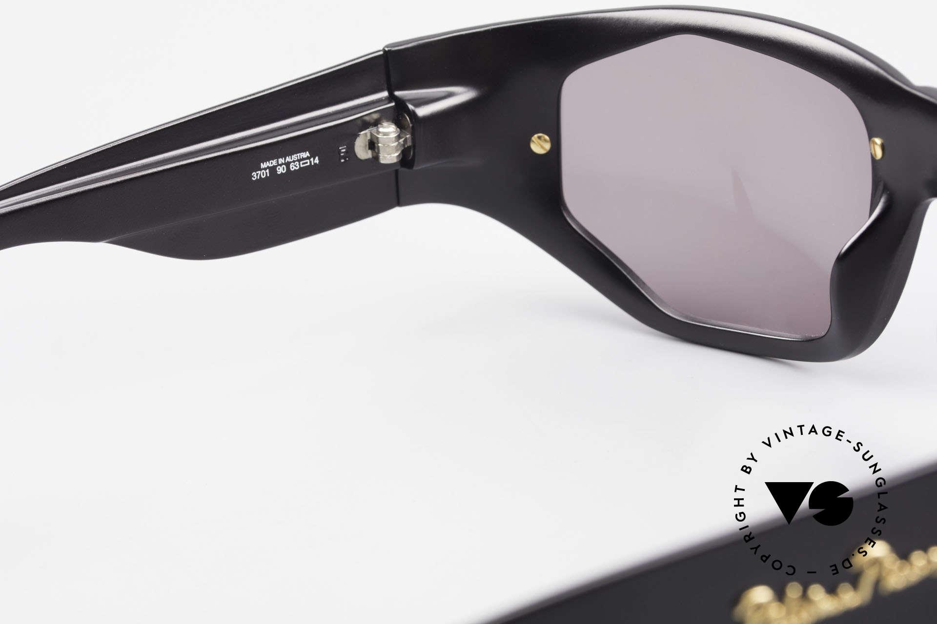 Paloma Picasso 3701 90er Damen Wrap Sonnenbrille, Keine Reproduktion, sondern ein stolzes Original!, Passend für Damen