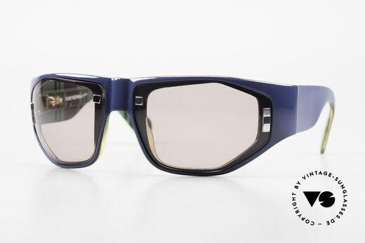 Paloma Picasso 3701 Wrap Around Sonnenbrille 90er Details
