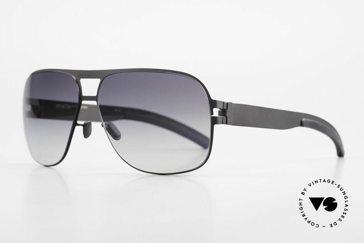 Mykita Clifford 2000er Vintage Sonnenbrille, Model No.1 Sun Clifford Black, black-gradient, Gr. 62/12, Passend für Herren