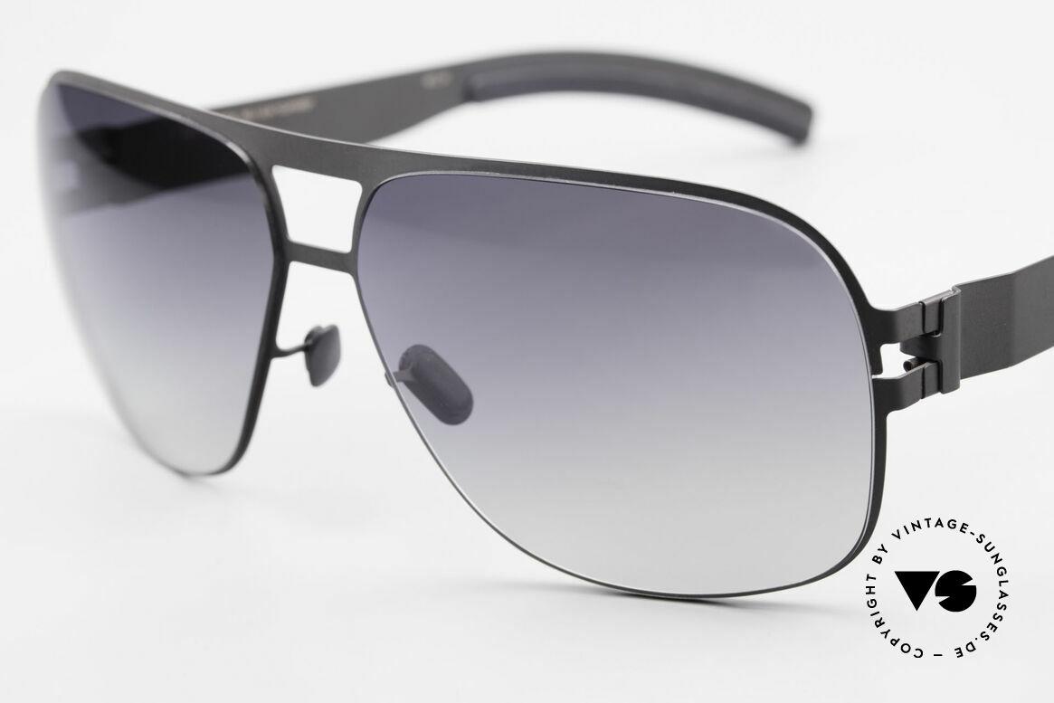 Mykita Clifford 2000er Vintage Sonnenbrille, innovativ flexible Metallfassung: eine Größe passt allen, Passend für Herren