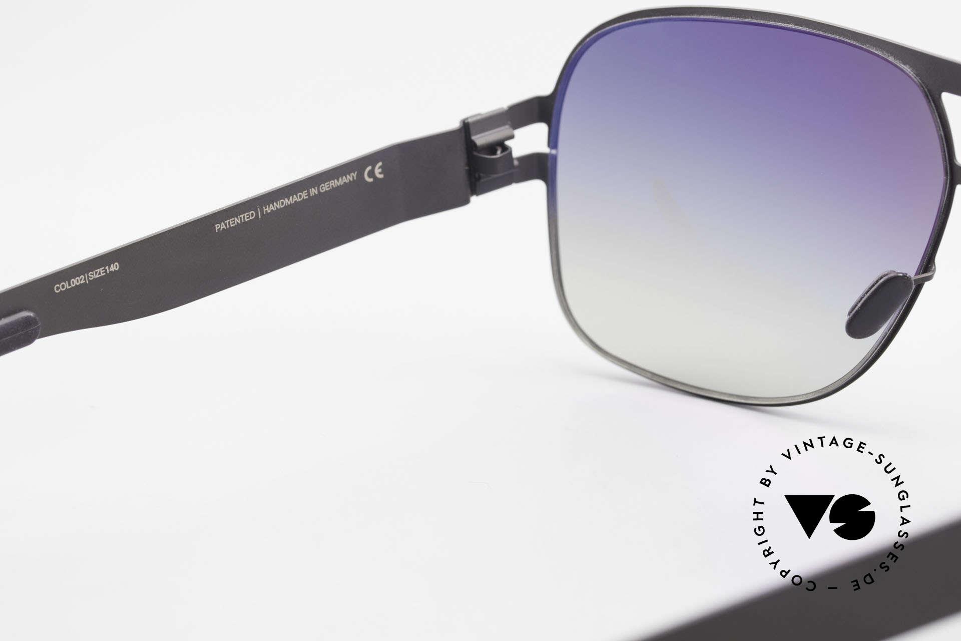 Mykita Clifford 2000er Vintage Sonnenbrille, getragen von zahlreichen Promis und inzwischen selten, Passend für Herren