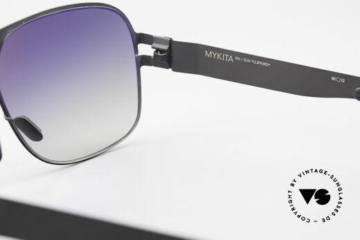 Mykita Clifford 2000er Vintage Sonnenbrille, daher jetzt bei uns (natürlich ungetragen und mit Etui), Passend für Herren