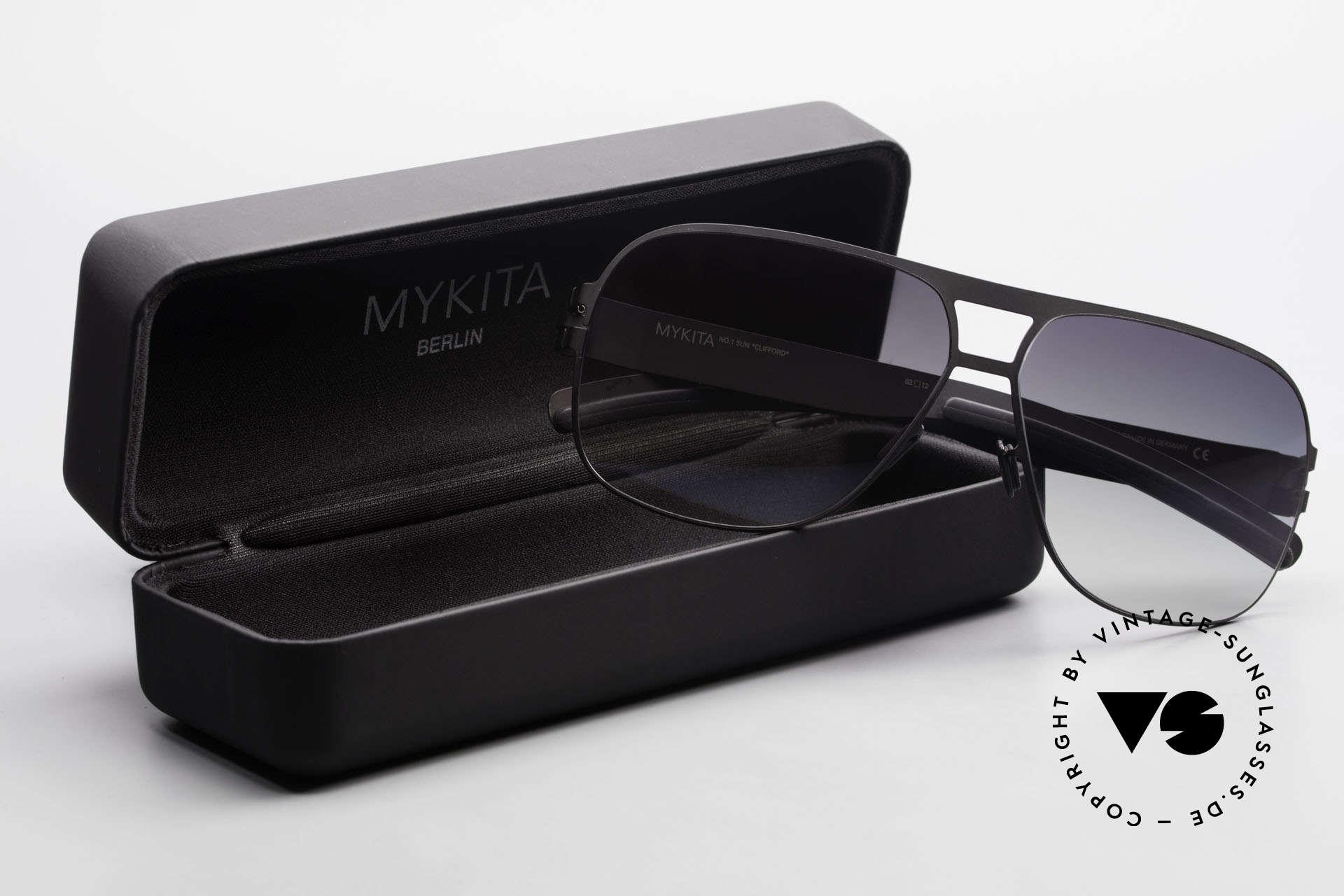 Mykita Clifford 2000er Vintage Sonnenbrille, Größe: medium, Passend für Herren