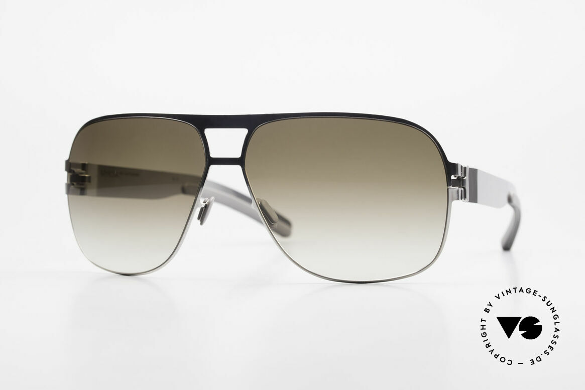 Mykita Clifford 2000er Vintage Aviator Brille, original VINTAGE Mykita Herren-Sonnenbrille von 2011, Passend für Herren