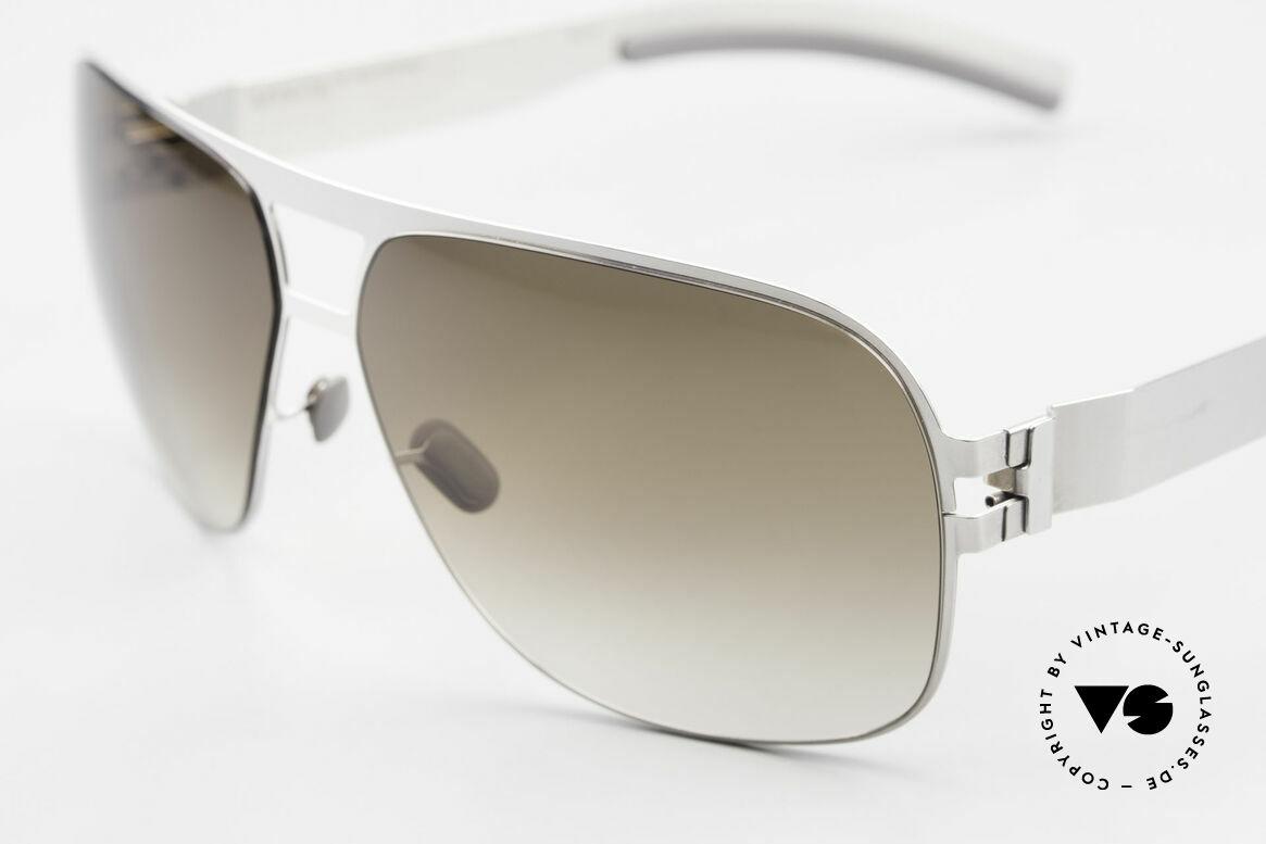 Mykita Clifford 2000er Vintage Aviator Brille, innovativ flexible Metallfassung: eine Größe passt allen, Passend für Herren